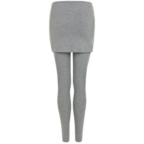 L Largo Montañas De Sita Sombrero Largo Y Balance Leggings Mujer Pantalones Yoga Gris FEwxH7qpv