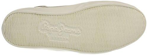 Donna 099gold Pepe Sneaker Jeans Combi Collo Alto Oro Clinton A S4Sz0f