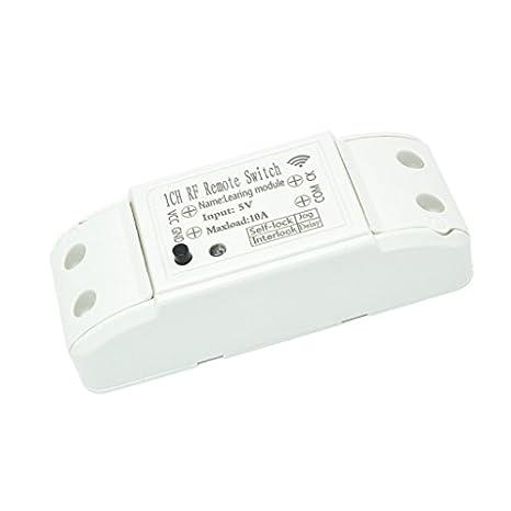 Homyl 433mhz Dc 5v 1ch Channel Wireless Remote Control Switch Relay