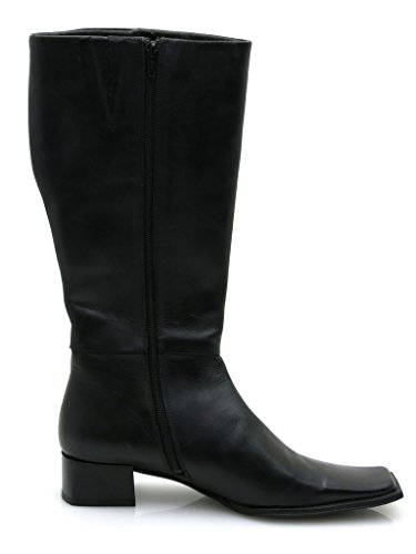 Boots Black Elegant 2719 Leather Ladies Leather Mexx Shoes q6CAw