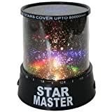 Navya Enterprise Romantic LED Cosmos Star Master Sky Starry Night Projector Bed Light Lamp