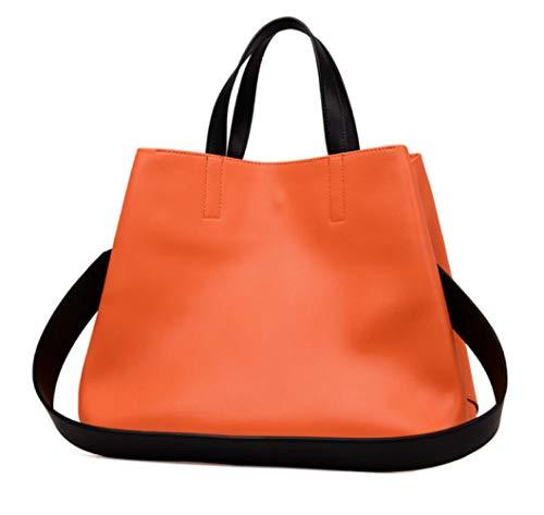 à Capacité Main Mode Orange à Sac Bandoulière Femmes Sac ZXMXK Grande wTa6SxYqnt