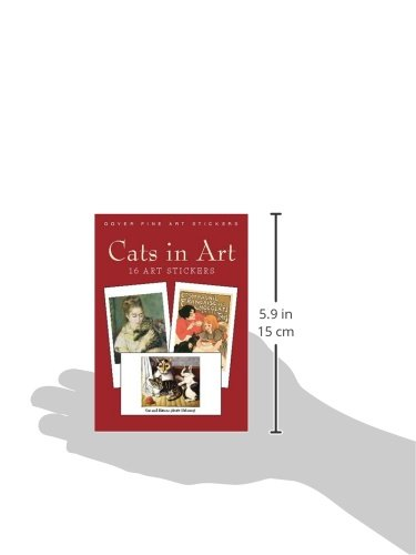 Cats in Art: 16 Art Stickers (Dover Art Stickers)