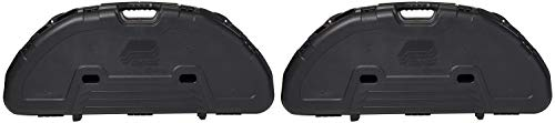 (Plano Protector Compact Bow Case (Black) (Pack of 2))