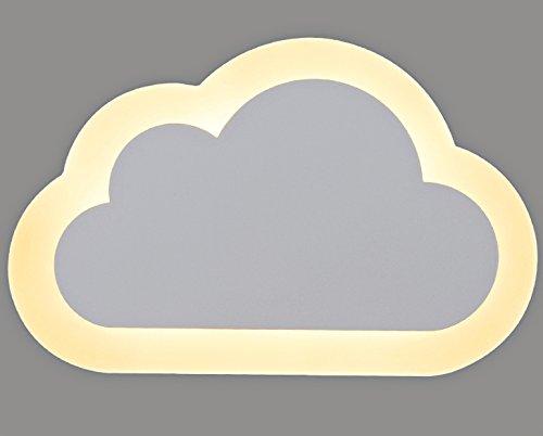 Lampada da parete moderna cloud bambini lampada da parete a led