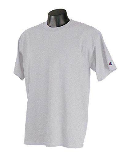Champion T425 Adult Short-Sleeve T-Shirt Asche