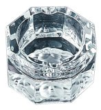 Versace by Rosenthal Medusa Lumiere Clear Ashtray, small