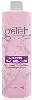 NEW Gelish Artificial Refill Soak Off Gel Nail Polish Remover 480mL (2 Pack)