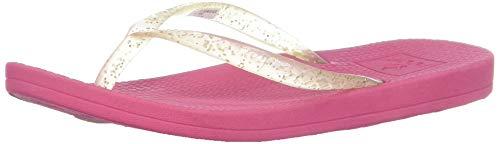 (Reef Girls' Kids Escape LUX Glitz Sandal, hot Pink, 9-10 Medium US Toddler)