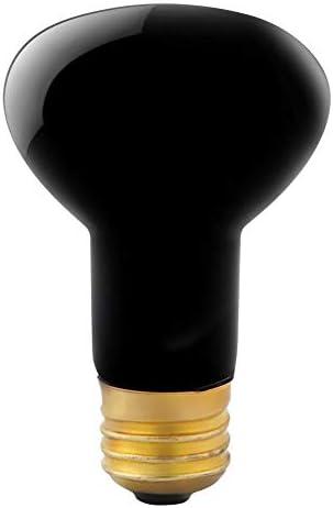 Brocan E27模擬ムーンライトナイトライト両生類爬虫類暖房電球投光器ランプ110V 60W