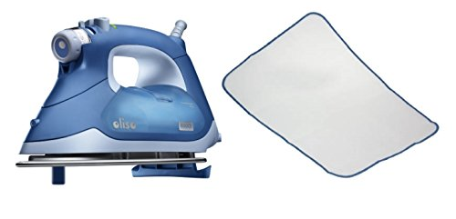 Oliso® TG1050 Smart Iron w/ Free Protective Ironing Scorch-Saving Mesh Pressing Pad 2-Pack