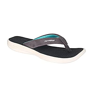 BREEZE | Soft | Comfortable | Washable Footbed | Faux leather Strap | Shock Absorbent Soul | Fun | Cute | Slippers | Flip Flops for Women