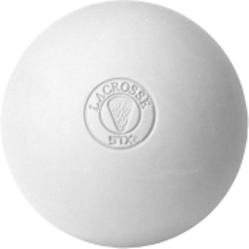 STX Lacrosse Official Lacrosse Balls White - 6 pack