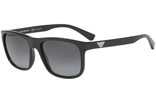 Emporio Armani EA4085F - 5017T3 Sunglasses BLACK Polarized 58mm