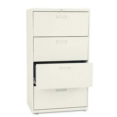 HON 500 Series 30 Inch Four Drawer Lateral File