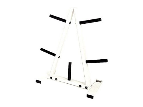 CAP Barbell 1'' Plate Tree Compact Design, Powder Coat Paint Finish by CAP+Barbell