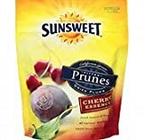 Sunsweet Amaz!n Prunes, Pitted, Cherry Essence 6oz (Pack of 3)