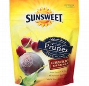 Sunsweet Amaz!n Prunes, Pitted, Cherry Essence 6oz (Pack of 3) by Sunsweet