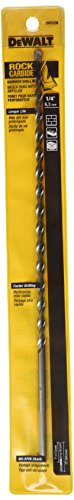 DEWALT DW5226 1/4-Inch by 12-Inch Carbide Hammer Drill Bit (Carbide Hammer 12 Inch)