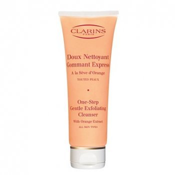 Cleansers One Step Facial Cleanser (Clarins One Step Gentle Exfoliating Cleanser Orange Extract 125ml)