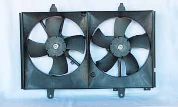 TYC 620760 Nissan Murano Replacement Radiator//Condenser Cooling Fan Assembly