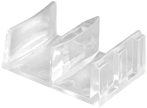 Prime-Line Products M 6058 Shower Door Bottom Guide Assembly,(Pack of 2) - Shower Door Bottom Guide