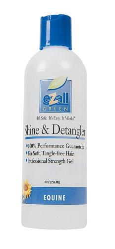 eZall Shine and Detangler, 8-Ounce (Leaf Wispy)