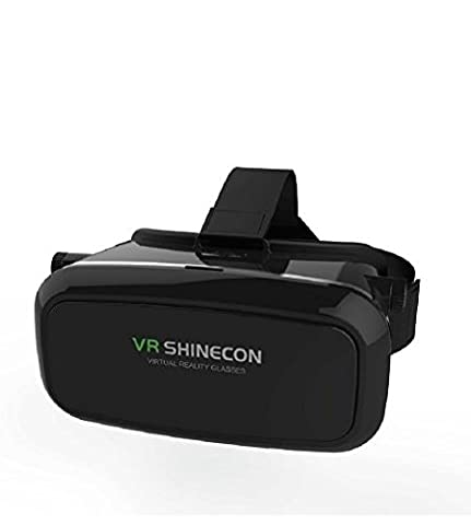 CSMARTE 3D VR Glasses Virtual Reality Box for iPhone 6/6S iPhone6 Plus Samsung LG Sony HTC ZTE and 3.5-6 inch Smartphone for 3D Movies and (Iphone6 Porch)