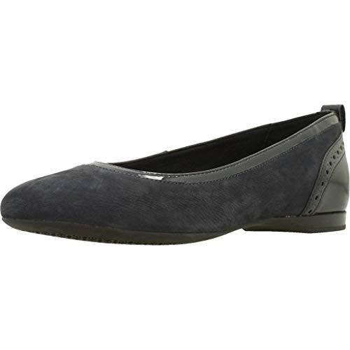 Zapatos GEOX Negro Modelo LAMULAY para D Mujer Negro Bailarina Negro ...