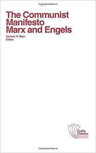 The communist manifesto karl marx friedrich engels samuel h the communist manifesto karl marx friedrich engels samuel h beer 9780882950556 amazon books fandeluxe Images