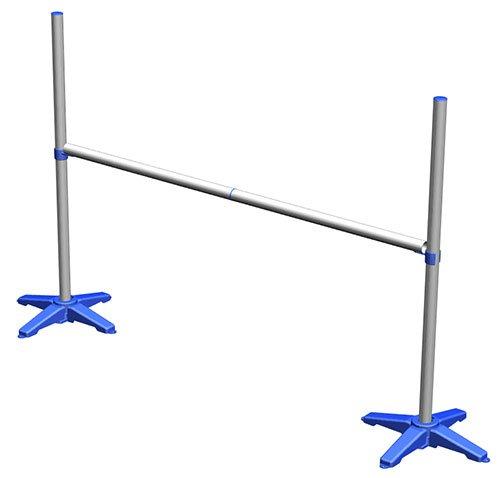 Jump Start Practice Dog Agility Jump (Blue) by J&J Dog Supplies