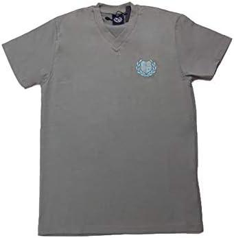 PADEL REVOLUTION Camiseta Unisex Cuello Pico Gris