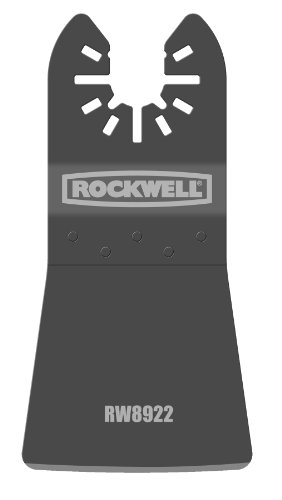 Rockwell RW8922 Sonicrafter Oscillating Multitool Flexible Scraper Blade with Universal Fit System