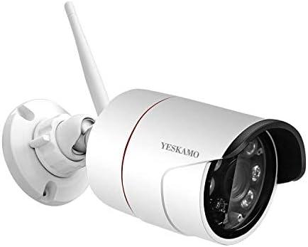 Yeskamo – Juego de 2 cámaras de vigilancia