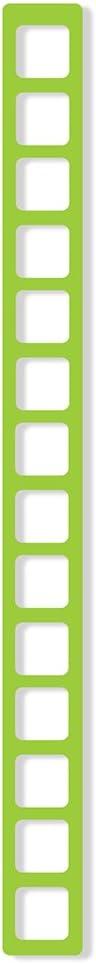 LocoModiv Unisex Silicone Ladder Shoulder Strap #381 Neon Green One Size