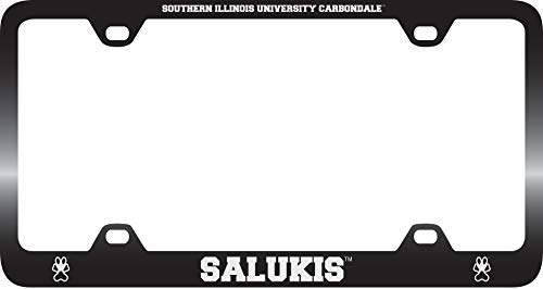 Illinois Plate Stickers - Acove Southern Illinois University Metal License Plate Frame-Black