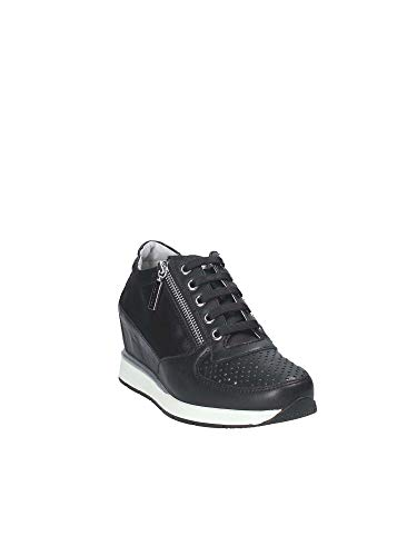 Nero Donna Stonefly 110157 38 Sneakers Ht8wU8