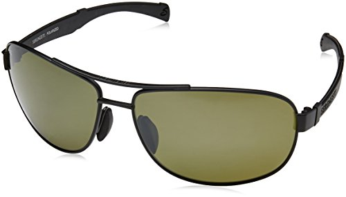 Serengeti 7971 Norcia, Satin Black Frame, Polarized 555nm Lens (7971 Glass)