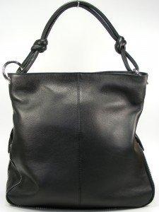 b0c2c9de2de68 Estelle Tasche Damentasche Umhängetasche Shopper Leder schwarz 0500 ...