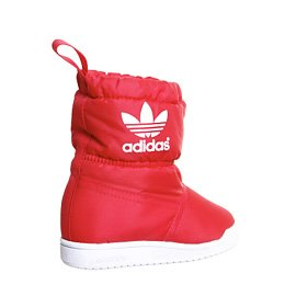 Adidas Originals SLIP ON BOOT I Chaussures Mode Boots Enfant Rouge