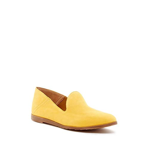 Franco Sarto Women's Freeze Sunflower Yellow Leather Loafer Flat - M - 13