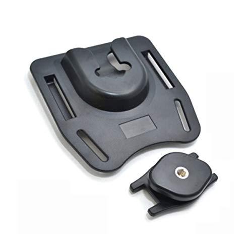 K-BM1 Camera Belt Buckle Camera Hanger Belt Clip Holster Holder Fast Loading Rig Plastic Waist Belt Buckle(Black) LEDMOMO Basic