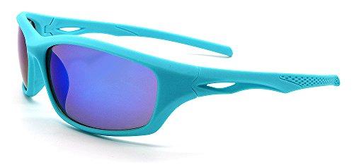 Homme Mohawk soleil Blue Lunettes Mirror de Turquoise Eyewear 6I8qRrn6