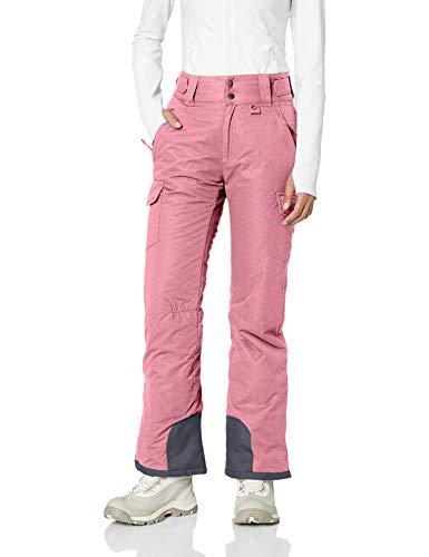 Arctix Women's Snowsport Cargo Pants, Small, Pink Rose