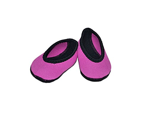 Nufoot Baby Slippers Ballet Flats, Pink, 0-6 Months