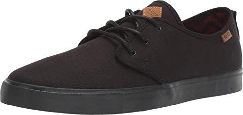 Reef Men's Landis 2 Skate Shoe, All Black, 9.5 M US