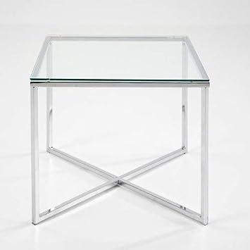 Lounge Zone Beistelltisch Couchtisch Wohnzimmertisch Glastisch