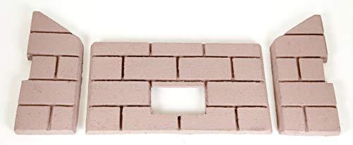 Whitfield Profile 30 & Optima 3 Premium Sandstone FIRE-TEK Firebrick for Pellet Stoves (Us Stove Firebrick)