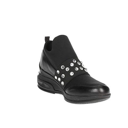 Pi19daily1 Fornarina Sneakers Alta Nero Donna qvRRdYSxw