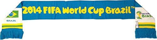 Officially Licensed Team Brazil 2014 FIFA World Cup Brasil Game Scarf